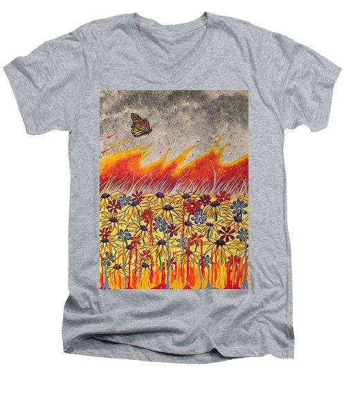 Brushfire Men's V-Neck T-Shirt