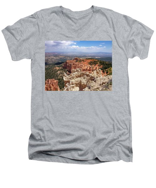 Bryce Canyon High Desert Men's V-Neck T-Shirt