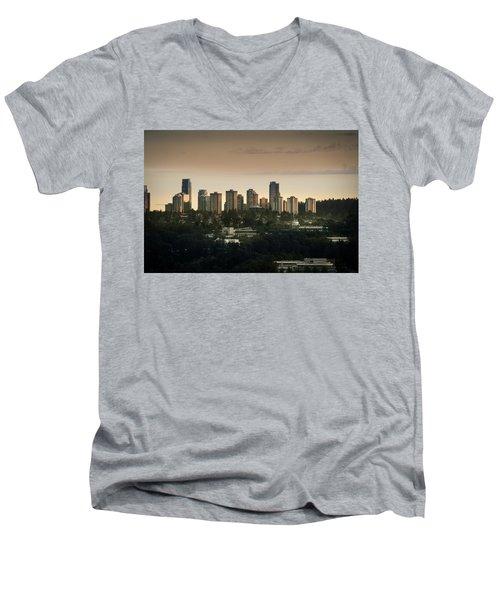 Burnaby Dusk Men's V-Neck T-Shirt