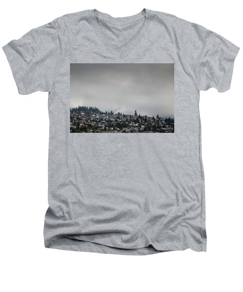 Burnaby Hill Men's V-Neck T-Shirt