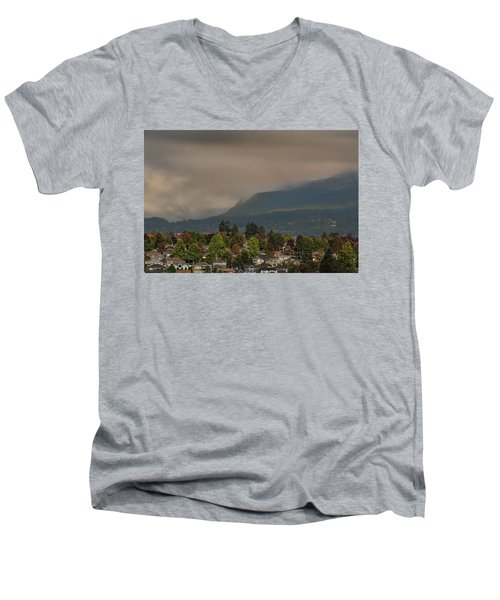 Burnaby Mountain Men's V-Neck T-Shirt