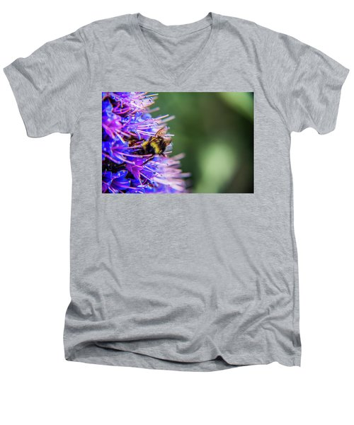 Busy Bee 2 Men's V-Neck T-Shirt