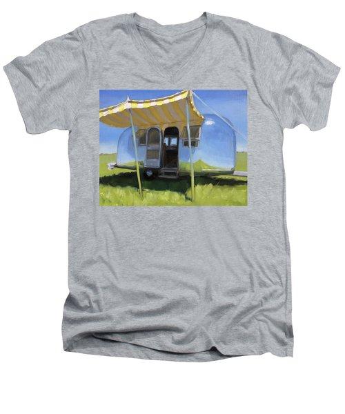 Buttercups And Lemonade Men's V-Neck T-Shirt