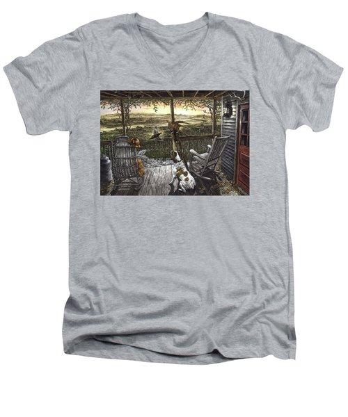 Cabin Fever Men's V-Neck T-Shirt