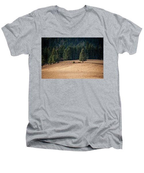 Caldera Edge Men's V-Neck T-Shirt
