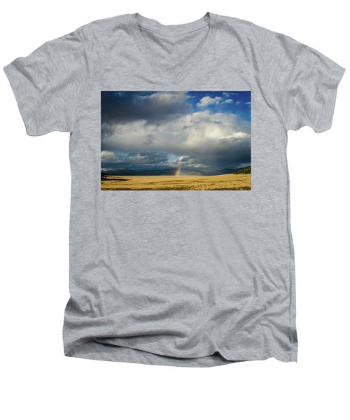 Caldera Rainbow Men's V-Neck T-Shirt