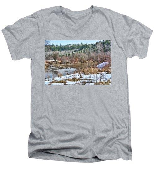 Calm Waters Men's V-Neck T-Shirt