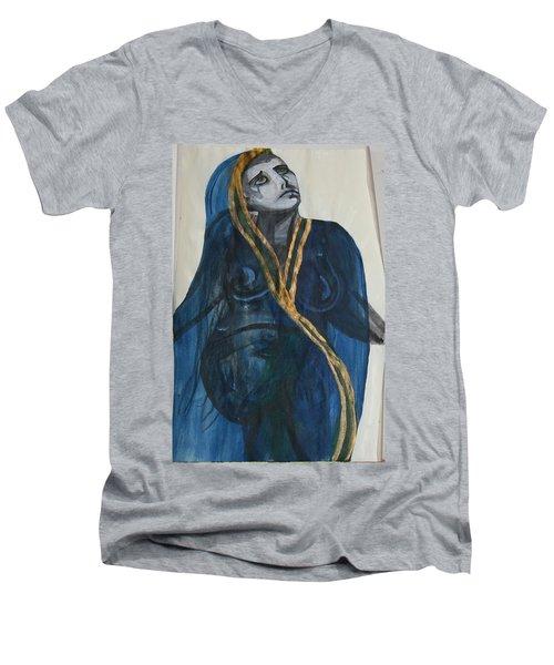 Can You Hear Me Men's V-Neck T-Shirt