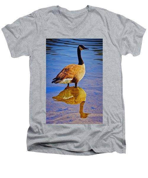 Canadian Goose Men's V-Neck T-Shirt
