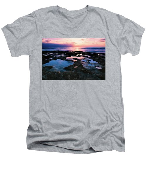 Candy Colored Pools Men's V-Neck T-Shirt