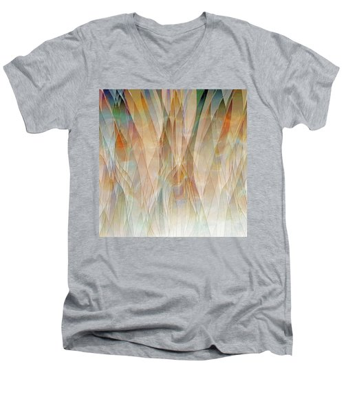 Canyon Falls  Men's V-Neck T-Shirt