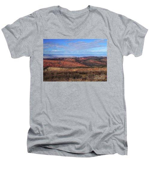 Canyons Of Utah Men's V-Neck T-Shirt