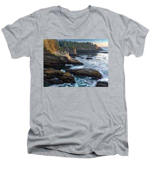 Cape Flattery Men's V-Neck T-Shirt