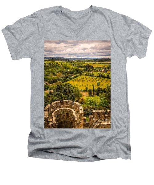 Carcassonne Men's V-Neck T-Shirt