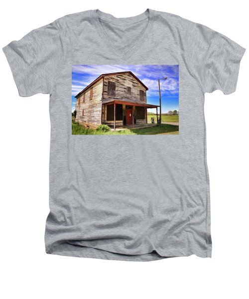 Carter's Store In Goochland Virginia Men's V-Neck T-Shirt