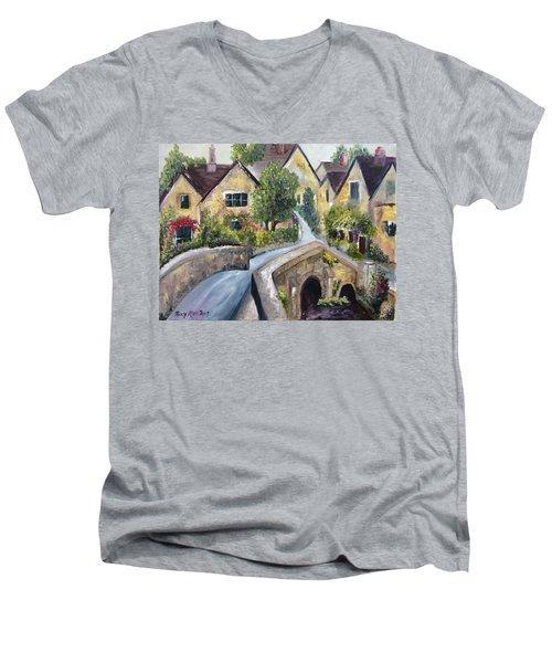 Castle Combe Men's V-Neck T-Shirt