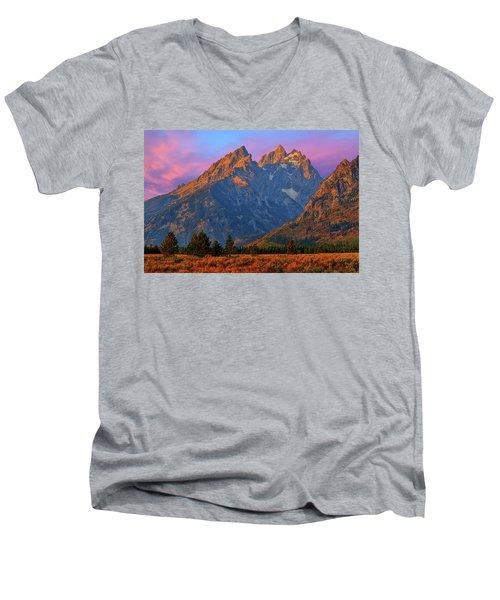 Cathedral Dawn Men's V-Neck T-Shirt