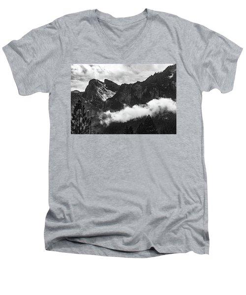 Cathedral Rocks Men's V-Neck T-Shirt