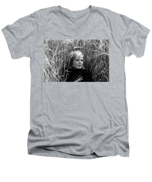 Cathy Men's V-Neck T-Shirt