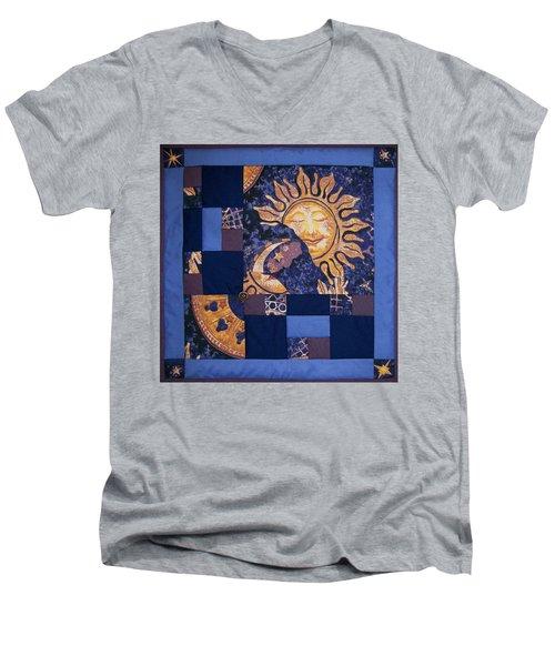 Celestial Slumber Men's V-Neck T-Shirt