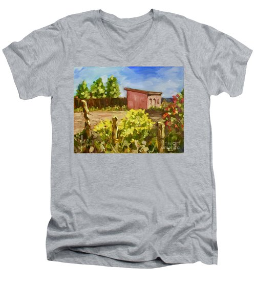 Chamesa In Bloom Men's V-Neck T-Shirt