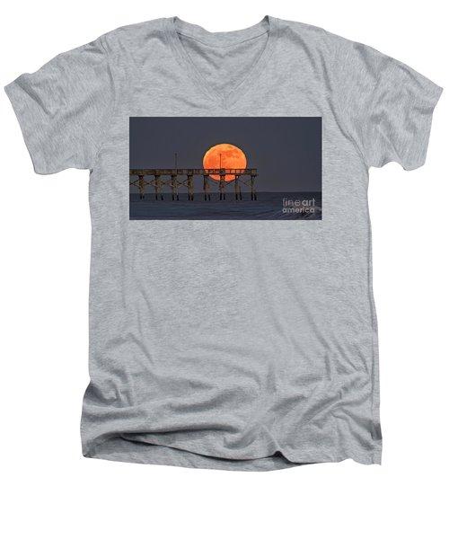 Cheddar Moon Men's V-Neck T-Shirt