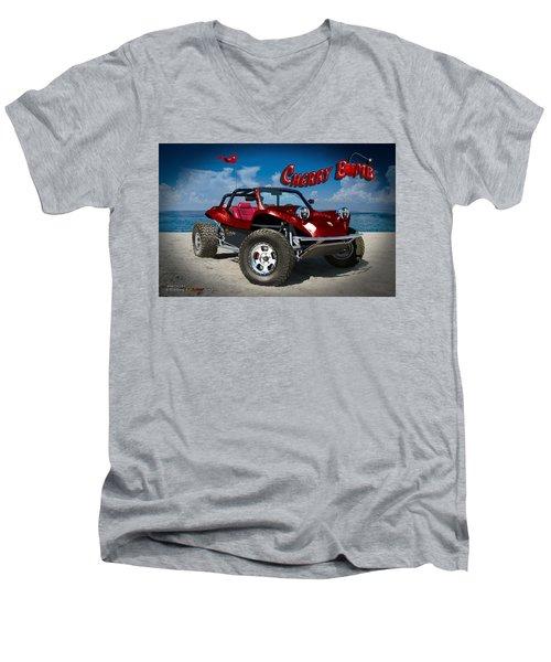 Cherry Bomb Men's V-Neck T-Shirt