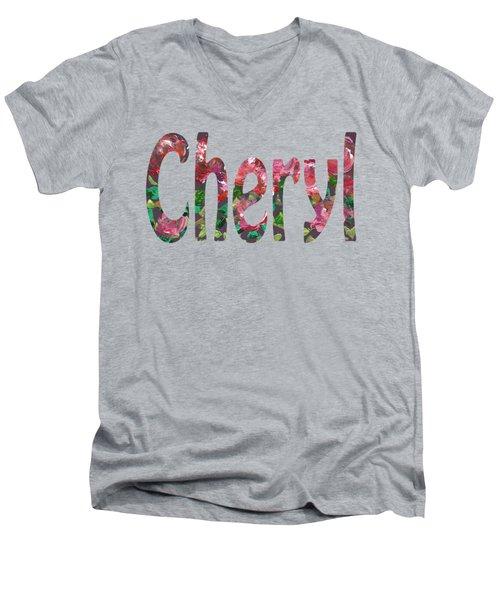 Cheryl Men's V-Neck T-Shirt
