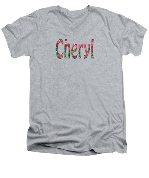 Cheryl Men's V-Neck T-Shirt