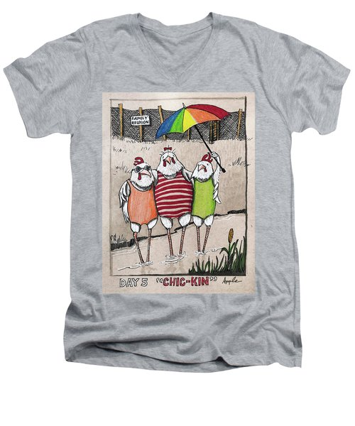 Chic-kin - The Reunion Men's V-Neck T-Shirt