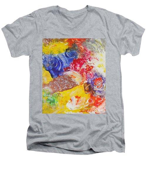 Child Laughter Men's V-Neck T-Shirt
