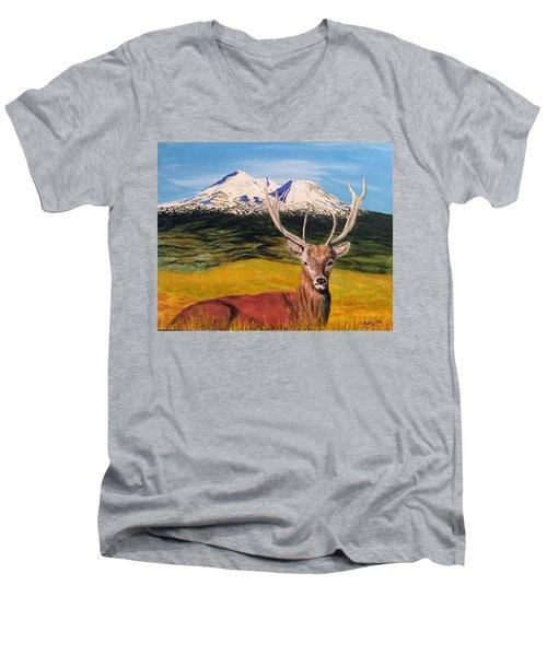 Chillin' Men's V-Neck T-Shirt