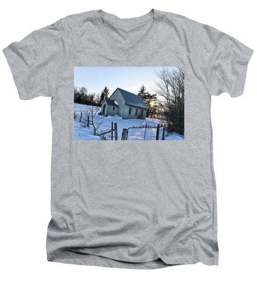 Church On Brewer Road Men's V-Neck T-Shirt