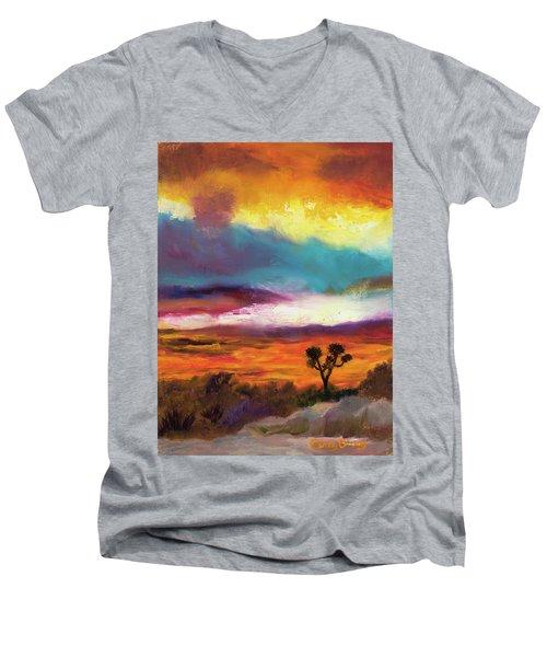 Cindy Beuoy - Arizona Sunset Men's V-Neck T-Shirt