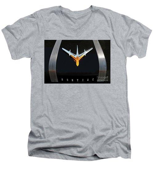 Classic Pontiac Hood Ornament Men's V-Neck T-Shirt
