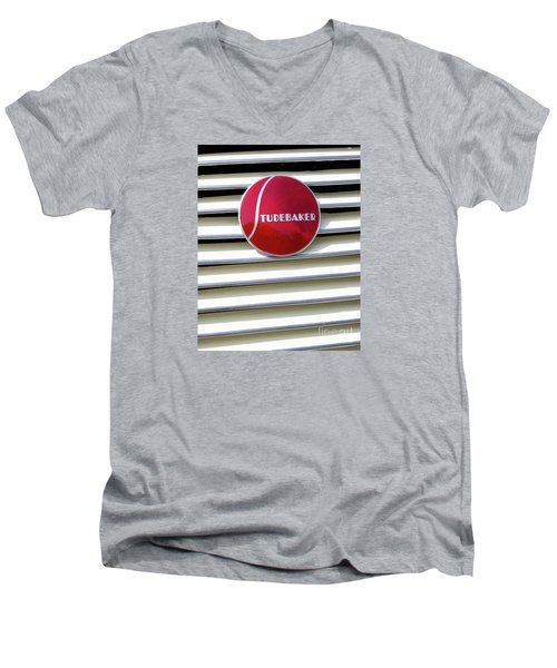 Classic Studebaker Logo Men's V-Neck T-Shirt