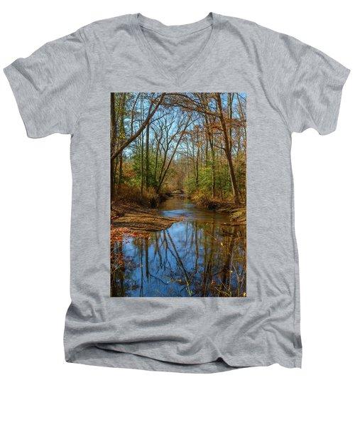 Clear Path Men's V-Neck T-Shirt