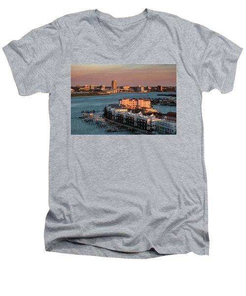 Clearwater Evening Men's V-Neck T-Shirt