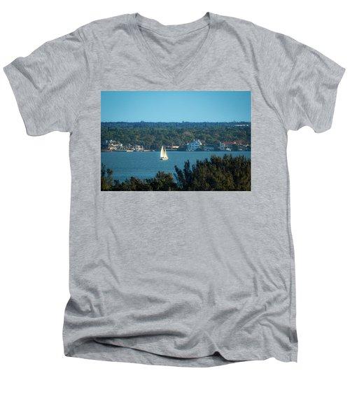 Clearwater Sails Men's V-Neck T-Shirt