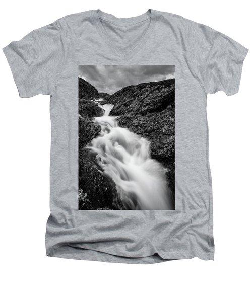 close to Ygnisdalselvi, Norway Men's V-Neck T-Shirt