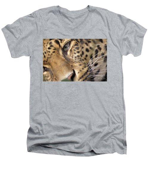 Close-up Men's V-Neck T-Shirt