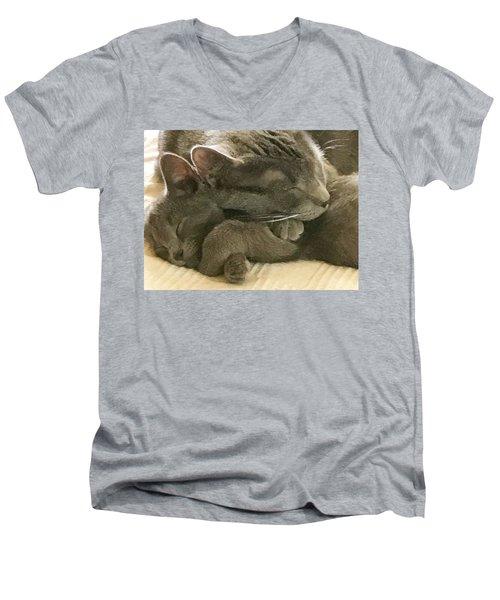 Cloud And Myst Men's V-Neck T-Shirt