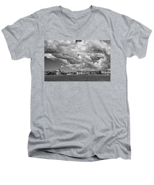 Clouds Over Helsinki Men's V-Neck T-Shirt