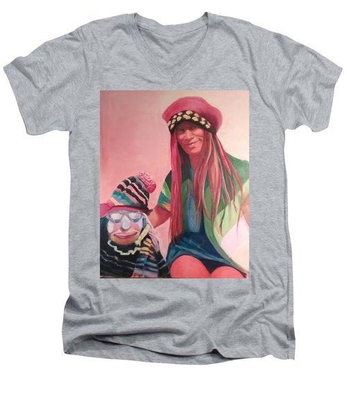 Clown Men's V-Neck T-Shirt