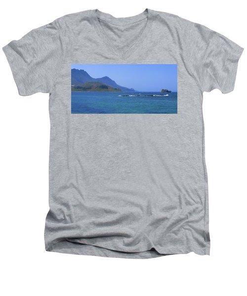 Coast Of Gramvousa Men's V-Neck T-Shirt