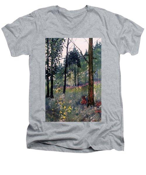 Codbeck Forest Men's V-Neck T-Shirt