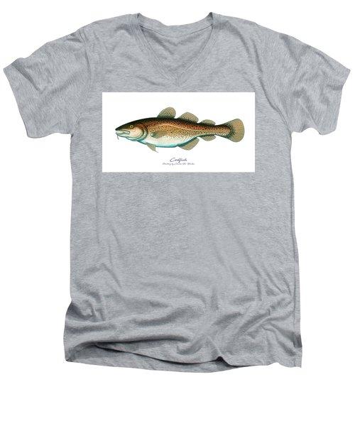 Codfish Men's V-Neck T-Shirt