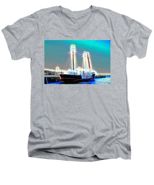 Cold Ghost Ship Men's V-Neck T-Shirt