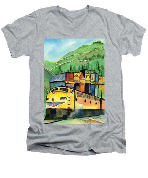 Colfax California Men's V-Neck T-Shirt