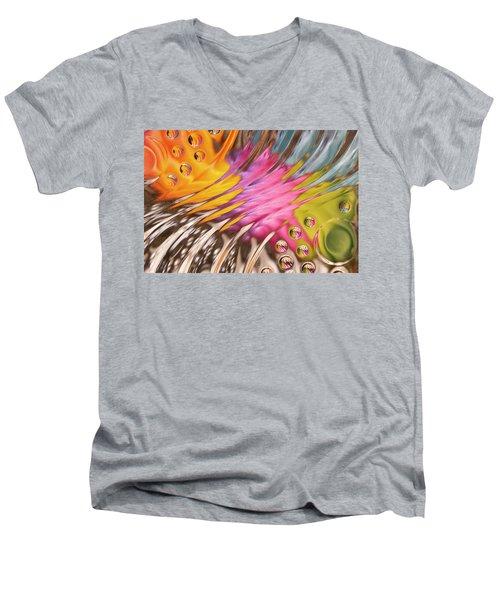 Colors In Vitro 2 Men's V-Neck T-Shirt